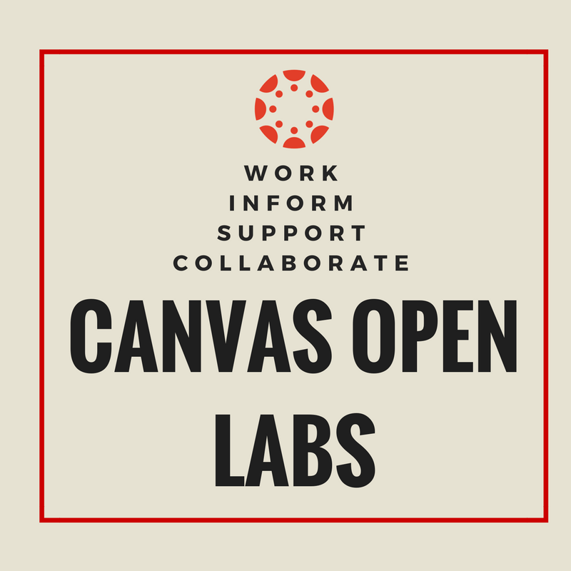 Canvas Open Labs Button
