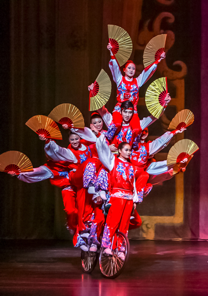 Chinese Golden Dragon Acrobats