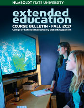 Cover of fall bulletin