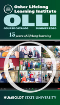 Cover of Summer 2020 OLLI catalog