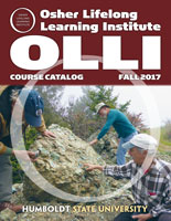 Cover of fall OLLI course catalog