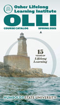 Cover of spring OLLI course catalog