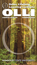 Cover of summer OLLI course catalog
