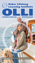 Cover of winter OLLI course catalog