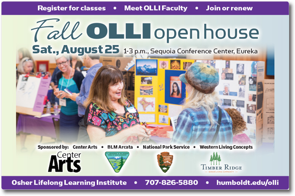 Fall OLLI Open House