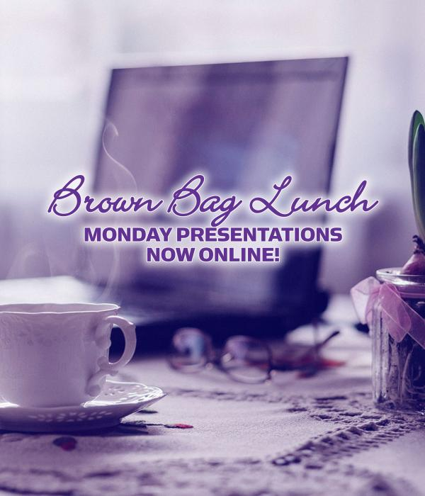 Brown Bag Lunch Presentations now online