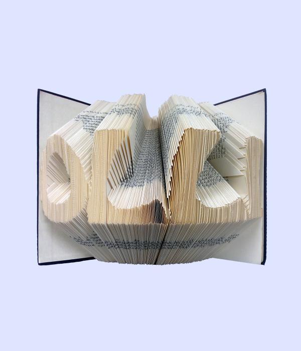 OLLI folded book