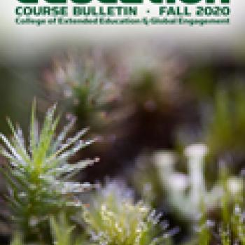 HSU Extended Education Fall 2020 Course Bulletin Cover