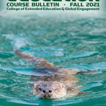 HSU Extended Education Fall 2021 Course Bulletin Cover