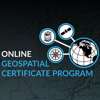 Online Geospatial Certificate Program