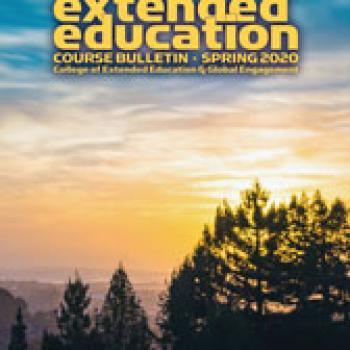 Cover of spring 2020 bulletin