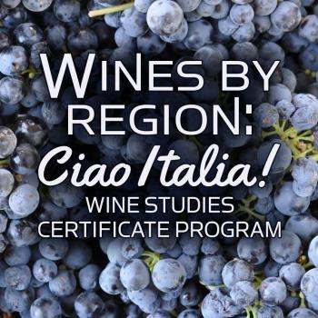Wines by Region: Ciao Italia! Wine Studies Certificate Program