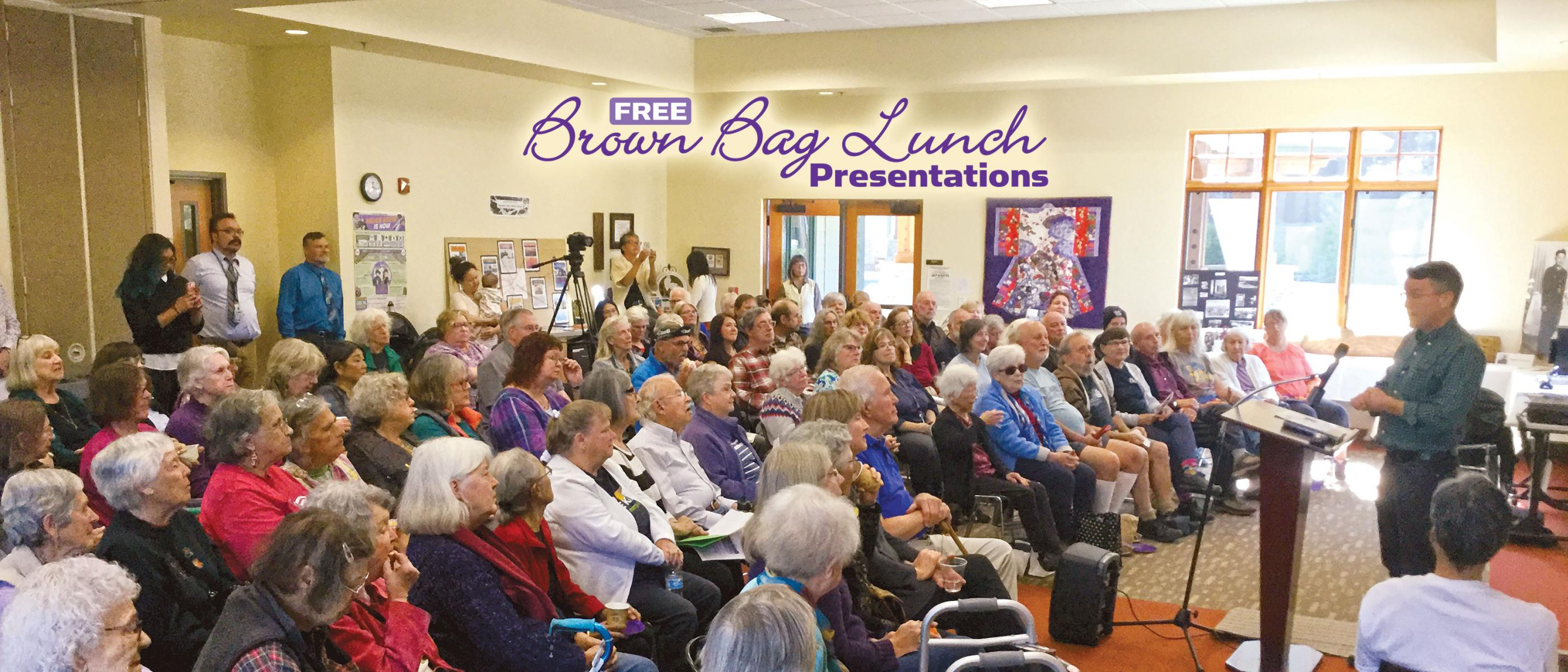 Free Brown Bag Lunch Presentations