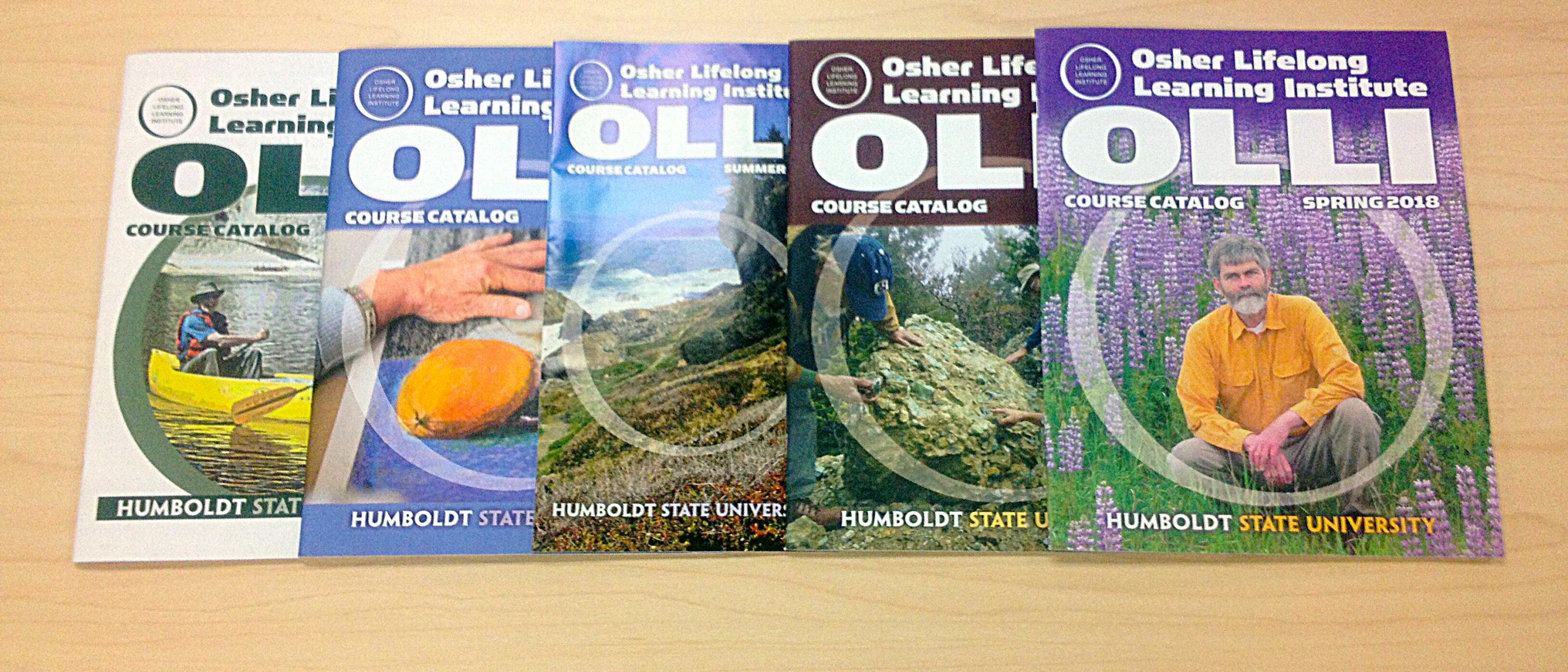 OLLI catalogs