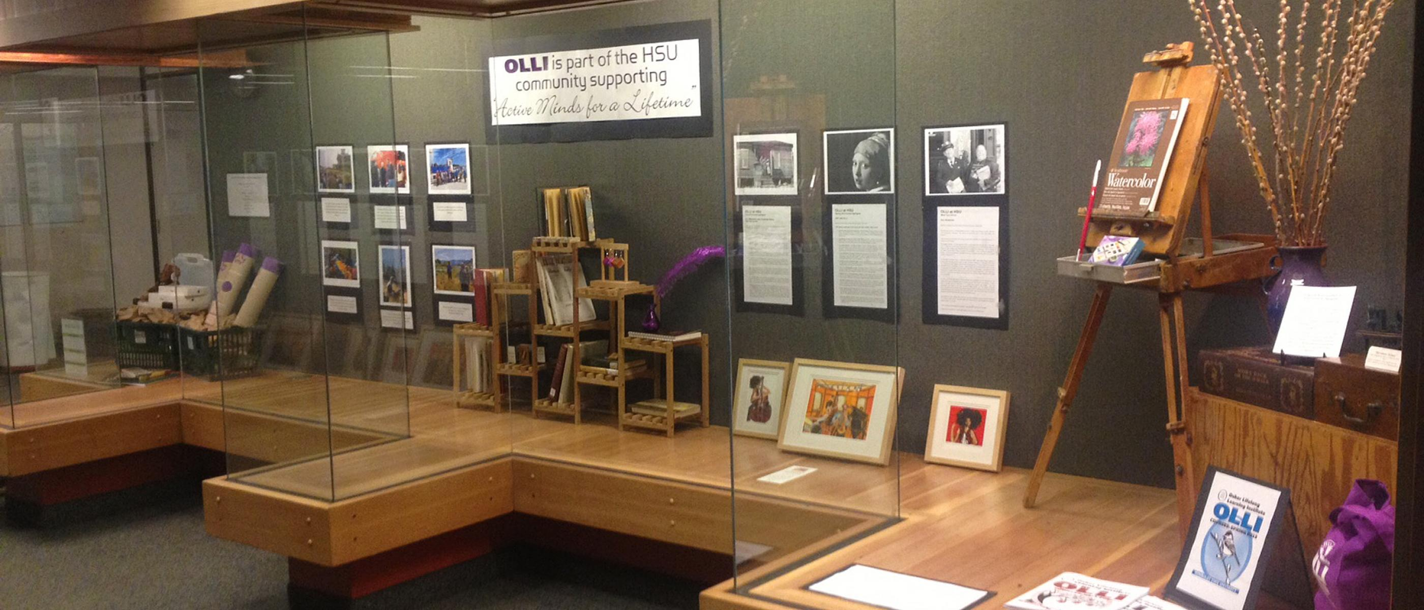 OLLI Library Display