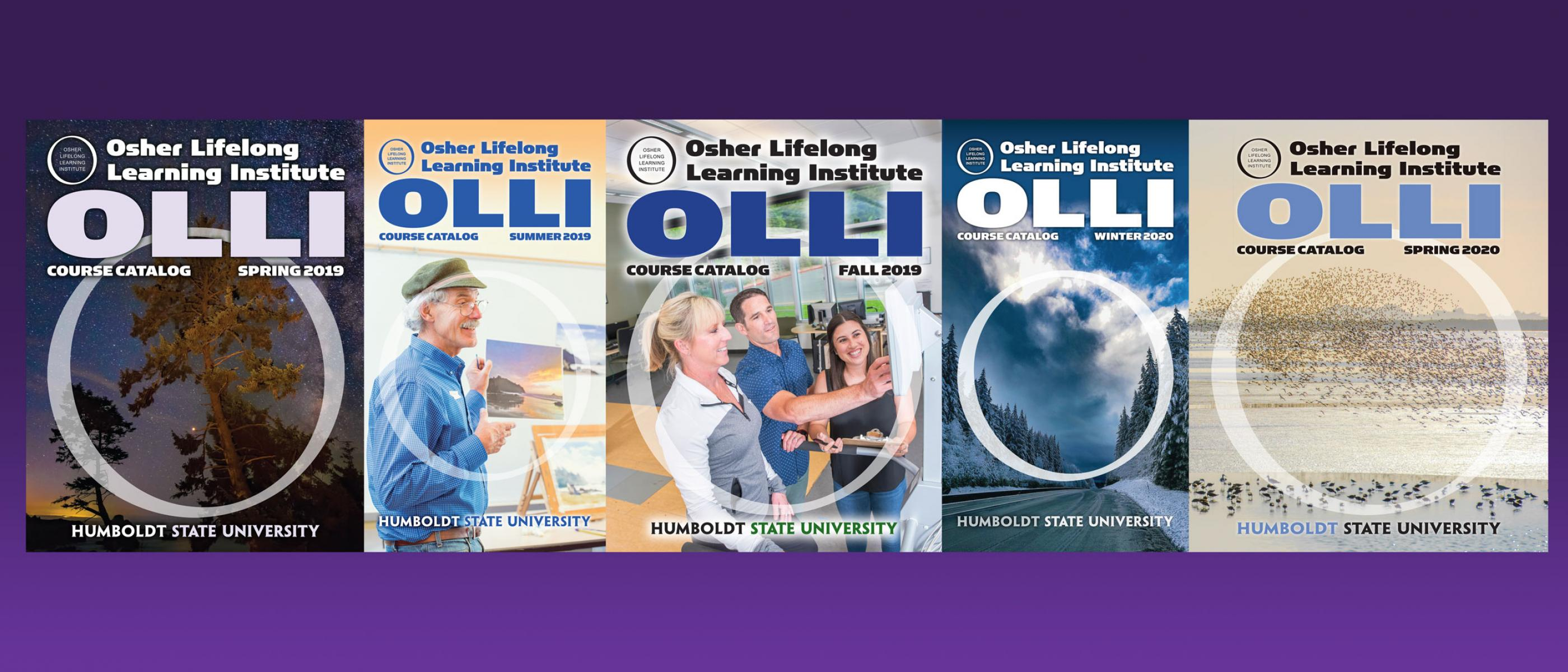 OLLI catalog covers