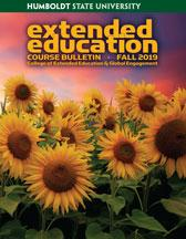Cover of Fall 2019 Extended Education Bulletin