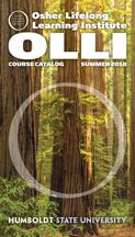 Cover image OLLI catalog - Redwood Trees