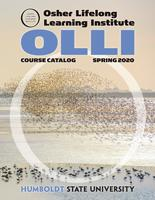 Cover of spring 2020 OLLI catalog