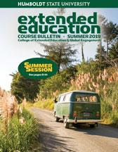 Summer 2019 HSU Extended Education bulletin cover