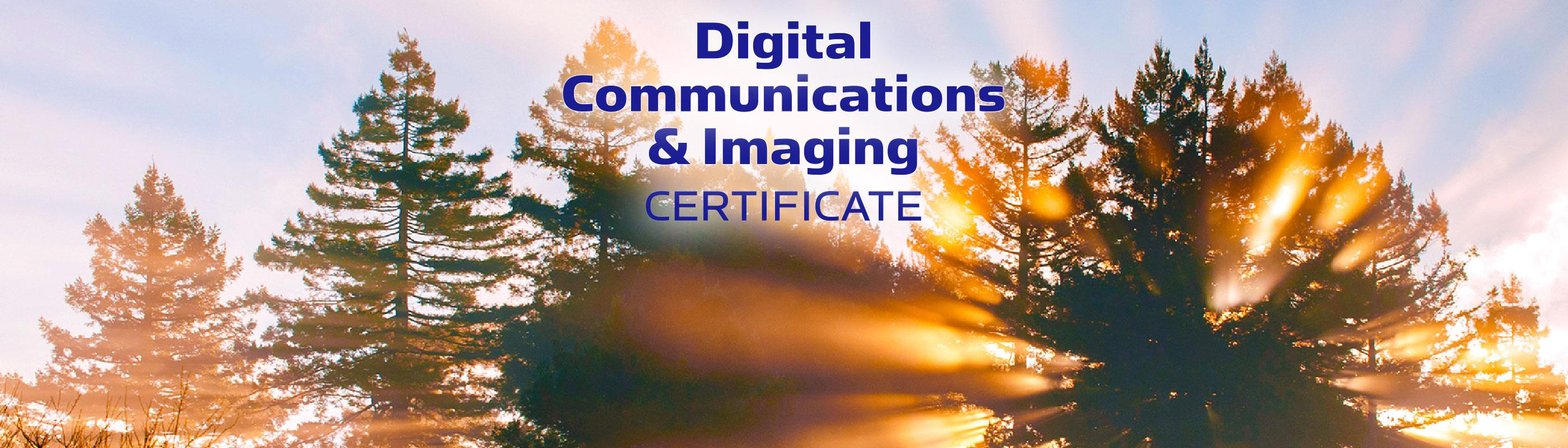 Digital Communications and Imaging Certificate