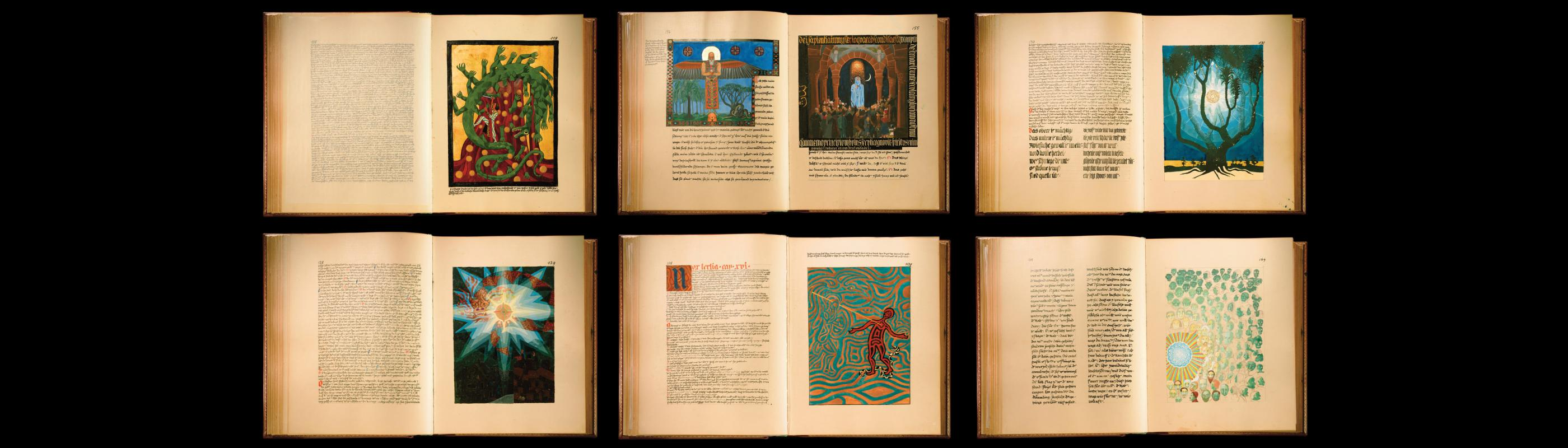 Pages from Carl Jung's Red Book