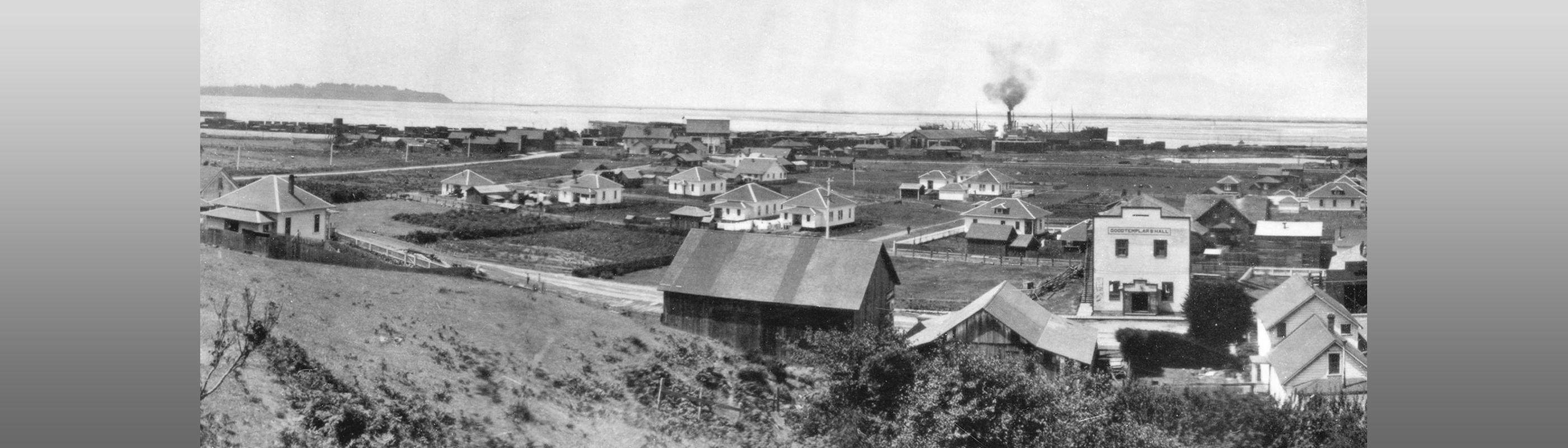 Historic photo of Fields Landing