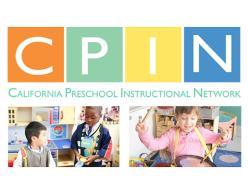 California Preschool Instructional Network (CPIN)
