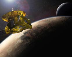 New Horizons view of Pluto