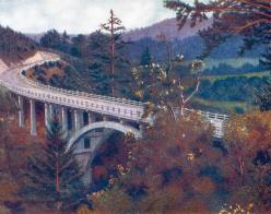 Bridge on Redwood Highway