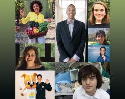 collage of images of young adults