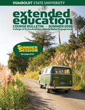 Cover of summer bulletin